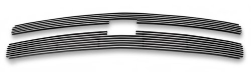 APS Polished Chrome Billet Grille Grill Insert #C65766A (Chevrolet Truck Grill)
