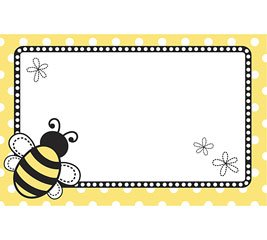 Bumble Bee Days Enclosure Cards 50 Pack- Gift Supplies Burton&Burton