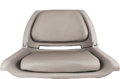 Chairs Boat Seat (attwood Padded Flip Boat Seat, Gray)