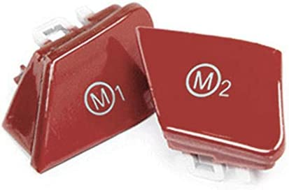 Arotom 2pcs Car Steering Wheel List price M1 Button Mode Switch BMW All stores are sold M2 For