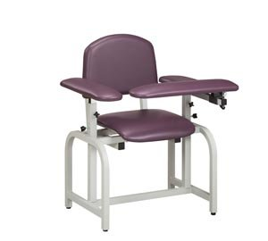 Pro Advantage P271015 Blood Draw Chair, Flip-Arm, Upholstered