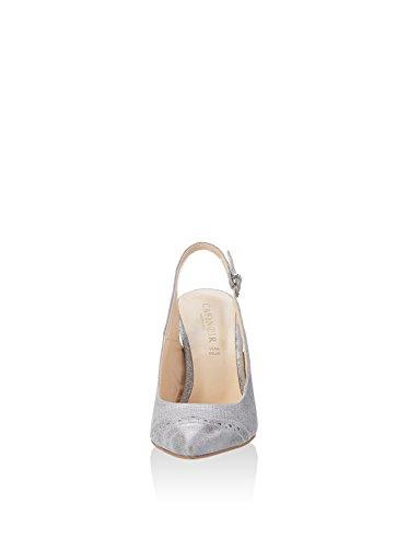 CAFèNOIR Zapatos de talón abierto Mxp604 Plata EU 39