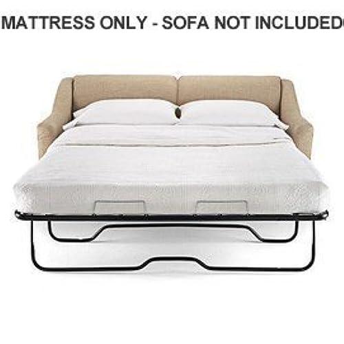 Superior Lifetime Sleep Products Sofa Sleeper Replacement Memory Foam Mattress, Queen
