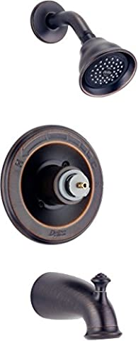 Delta T14478-RBLHP Leland Monitor 14 Series Bathtub & Shower Trim without Handle, Venetian Bronze (Delta Leland Bathtub Faucet)