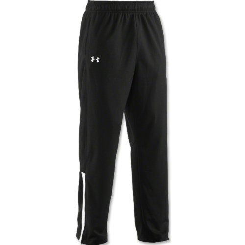 Mens Under Armour Team Knit W/U Pant Black/White Size Small -