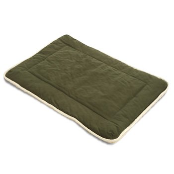 Dog Gone Smart Olive Sherpa Crate Pad, X-Large, My Pet Supplies