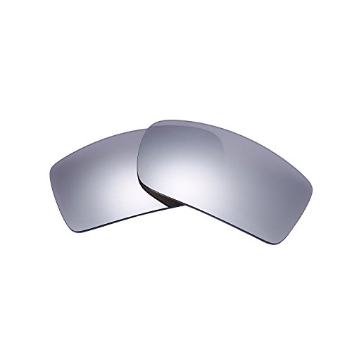 Polarized Replacement Lenses for Oakley Gascan Sunglasses (Titanium) NicelyFit