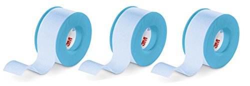 3M™ Kind Removal Silicone Tape, single-patient use roll 2770S-1: Blue, 1 Inch, 1.5 Linear Yard, 2.5 cm:
