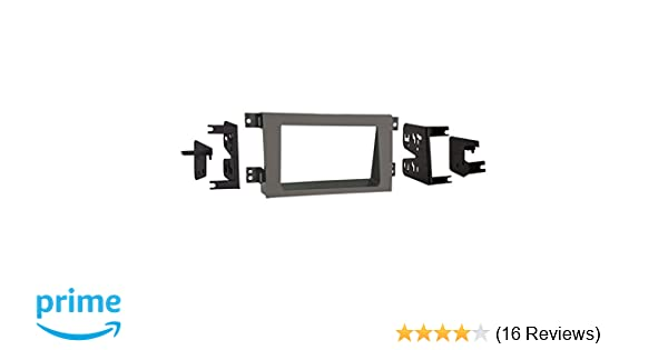 Metra 95-7870T 2005 And Up Honda Ridgeline Double Din In-Dash Receiver Kit Tan