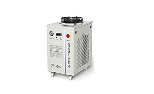 - CW-5300AH Industrial Water Chiller for a Single 150W CO2 Laser Tube Cooling 220V 50Hz