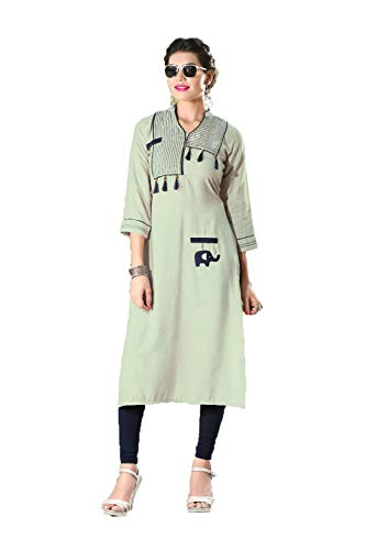 Da Facioun Indian Women Designer Partywear Ethnic Traditonal Readymade Kurti. Da Facioun Femmes Indiennes Concepteur Partywear Ethniques Traditionelles Kurti. Readymade Smoke White La Fumée Blanche