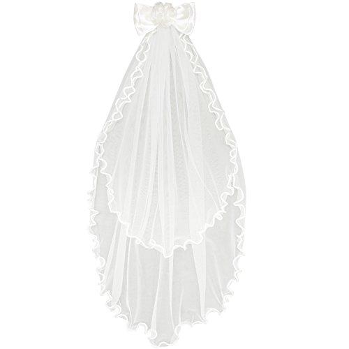 Sunny Fashion LK11 Girls Veil For Wedding Dresses Size Onesize (Veil Gown)