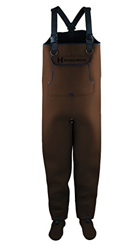 Hodgman caster neoprene stocking foot chest wader for Fishing waders amazon