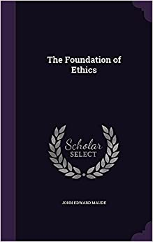 Book The Foundation of Ethics