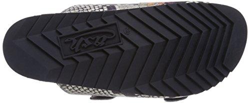 Ash UP - sandalias abiertas de piel mujer negro - Schwarz (roccia 7861)