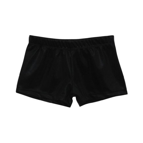 Black Velvet Micro Mini Bike Shorts by k-Bee Leotards