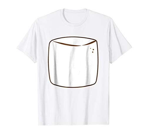 Marshmallow Group S'more Halloween Costume T-shirt]()