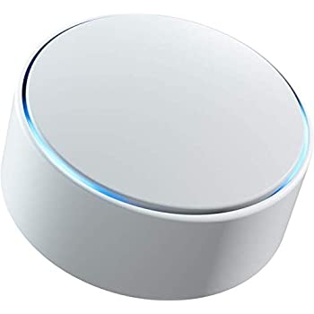 Minut Smart Home Sensor, Monitor Noise Levels, Motion, Temperature & More. All-in-one, Wireless & Self-Installed, 6 Month Battery Life, Works with Alexa