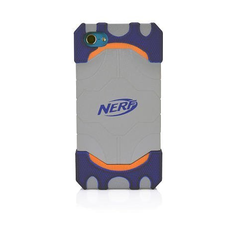 Nerf Elite Gaming Grip iPod Touch 5 Cover-Orange/Gray
