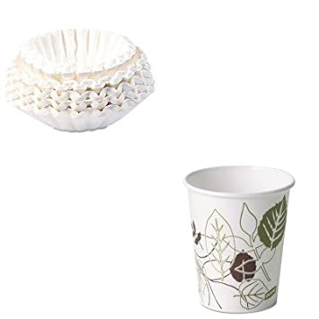 KITBUN1M5002DXE2340PATHPK - Value Kit - Dixie Pathways Paper Hot Cups (DXE2340PATHPK) and Bunn Coffee Commercial Coffee Filters (BUN1M5002)