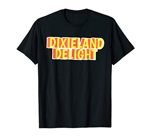 - Dixieland Delight Southern Dixie South Country Retro T-Shirt