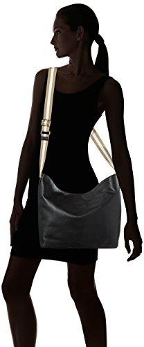 Clarks Tothill Drive, Borsa con Maniglia Donna, Nero (Black Leather), 13x30x32 cm (B x H x T)