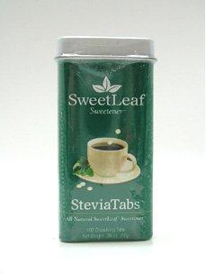 SweetLeaf SteviaTabs экстракта стевии, таблетки, 100-Count Пакеты (в упаковке 4)