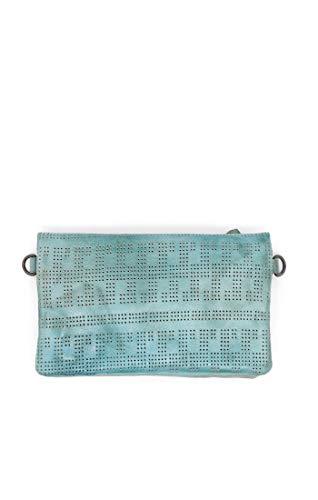 Bed Stu Bayshore Leather Cross-body Bag (Fog Rustic)