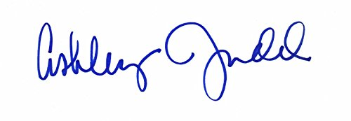 Ashley Judd Signed - Autographed 1990's Vintage 3x5 inch Index Card - HUGE Signature - Double Jeopardy - Kiss the Girls - Divergent Actress