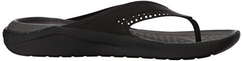 Grey Zapatos Y Literide De Piscina U Crocs Negro slate Flip black Adulto Playa 0dd Unisex wqHqxO