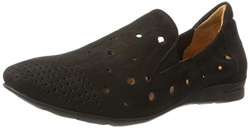 Think! WoMen Wunda Loafers, Beige, 5 UK Black (Black-00)
