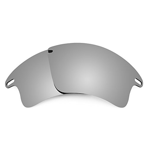 1e931d1eec Galleon - Revant Replacement Lenses For Oakley Fast Jacket XL Titanium  MirrorShield