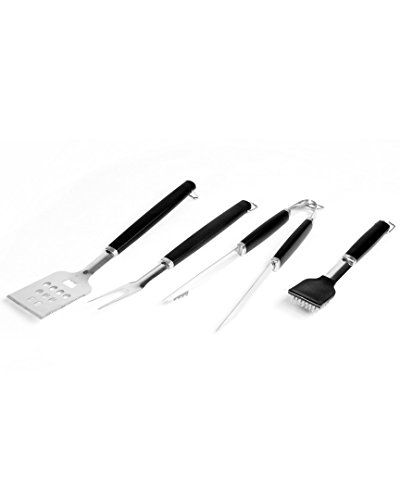 Charcoal Companion Perfect Chef Barbecue Tool Set (4-Piece) - CC1005 -
