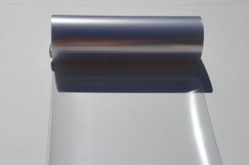 Headlights, Tail Lights, Fog Lights Tint Vinyl Film, Self Adhesive (Medium 12''X72'', Gloss Clear)