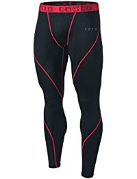 Men's Compression Pants Baselayer Cool Dry Sports Tights...