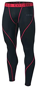 TM-MUP19-KKR_Large Men's Compression Pants Baselayer Cool Dry Sports Tights Leggings MUP19