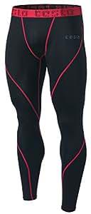 Tesla TM-MUP19-KKR_2X-Large Men's Compression Pants Baselayer Cool Dry Sports Tights Leggings MUP19