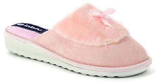 Pantofole Art 73 Ci Da Ciabatte Inblu Donna Rosa Invernali 4dUnwq