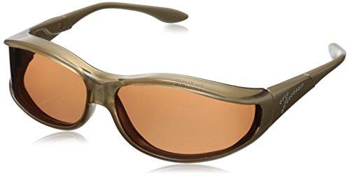 Vistana Polarized Jeweled Fitover Small Sunglasses