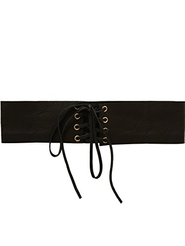 B-Low The Belt Women's Eve Corset Belt, Black/Gold, Medium by B-Low the Belt