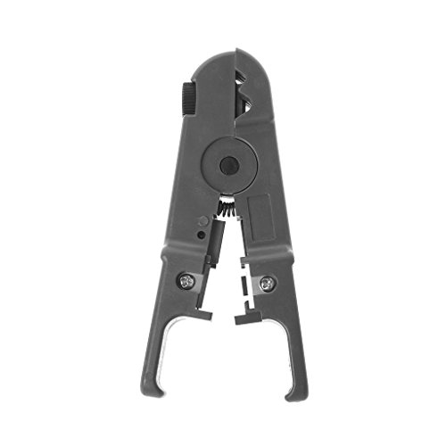 Xincu Multi Functional Adjustable Automatic Cable Wire Stripper, Electrical Cutter Tools, Wire Cutters (Gray)