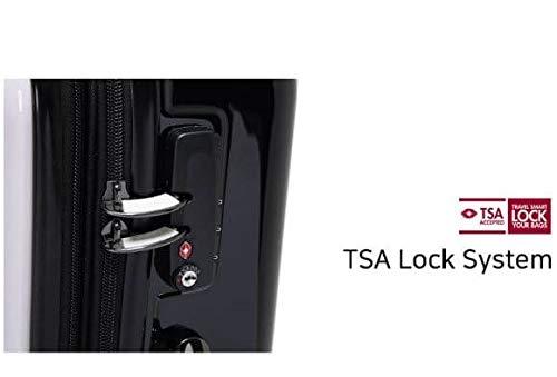 a68e1eb1fe Amazon   H-OUTDOOR 荷物用 スーツケース キャリーケース TSAロック SUITCASE 旅行 出張 Wheelpak 24  inch(海外直送品) (WHITE)   H-OUTDOOR   スーツケース
