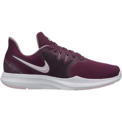 Nike Women's in-Season Tr 8 Bordeaux/Pink Foam/Plum Dust/Plum Chalk 10 B US (Best Nike Print Ads)