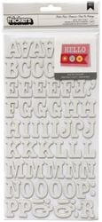 Bulk Buy: American Crafts Thickers Chipboard Glitter Alphabe