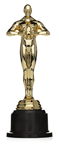 Perfect Order Award Trophy Statue for Celebration or Party 7 1/4 Inches, Set of 3 (Best Director Winner For Reds)