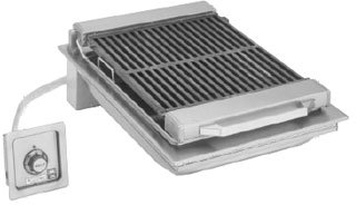 ler built-in electric cast iron grate 20
