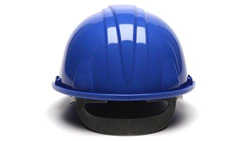 Pyramex Orange Cap Style 4 Point Snap Lock Suspension Hard Hat