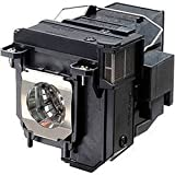 AuraBeam Professional Epson PowerLite 585W Projector Replacement Lamp with Housing (Powered by Osram