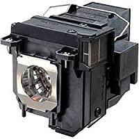 AuraBeam Professional Epson PowerLite 580 Projector Replacement Lamp with Housing (Powered by Osram)