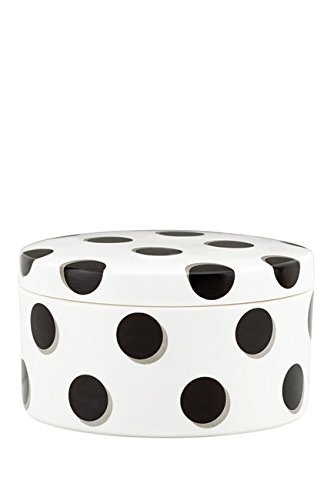 kate spade new york Daisy Place Spots Covered Keepsake Box Polka Dots
